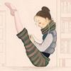 独爱芭蕾的女汉子。