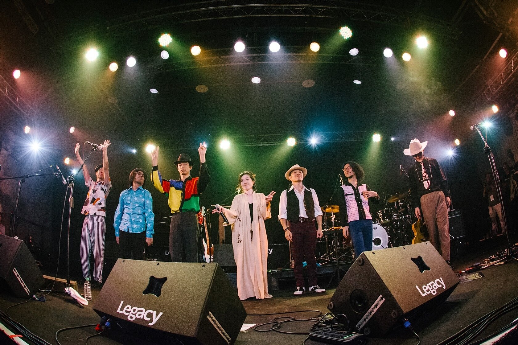 """Ego-Wrappin' live tour """"Route 20 HIT the Road"""" in Taiwan"""