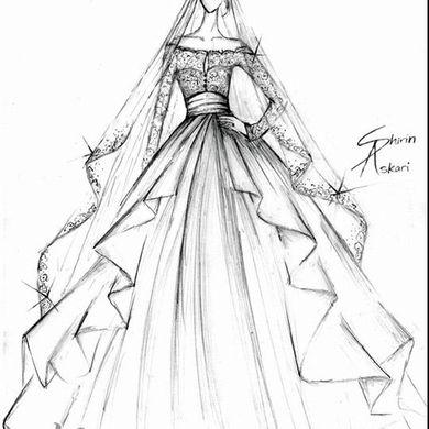 韩版服装设计图手绘