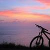 夕陽西下時。一個人的窗口音樂。