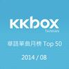 KKBOX单曲月榜201408
