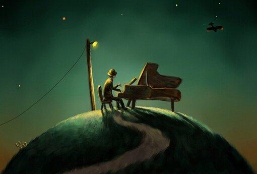 秋夜,适合沉默,适合忧伤『钢琴集  午夜篇』