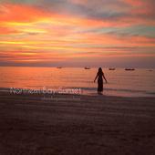 Northern bay sunset