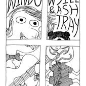 窗台烟灰缸 Windowsill & Ashtray